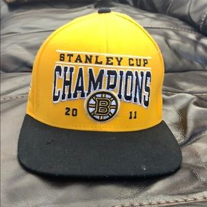 Boston Bruins 2011 Stanley Cup Champs Hat